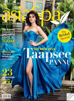 Taapsee Pannu On The Cover Of AsiaSpa