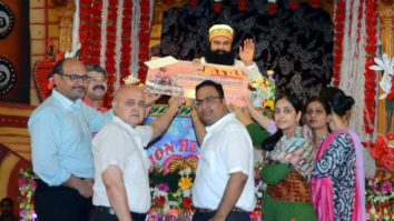 Dr. MSG donated Rs. 25 Lakhs for bone bank from his income from Jattu Engineer