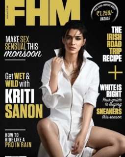 Kriti Sanon On The Cover Of FHM