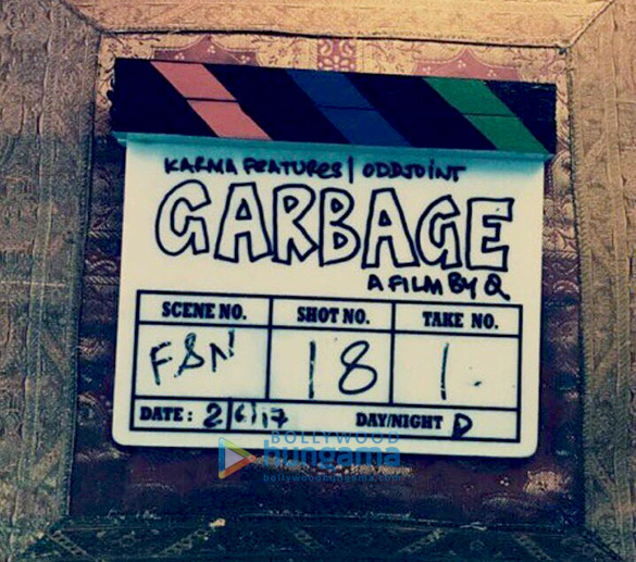 On The Sets Of The Movie Garbage