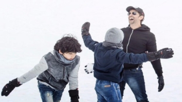 Hrithik Roshan having a gala time with his kids is the CUTEST THING that you will see on the internet today