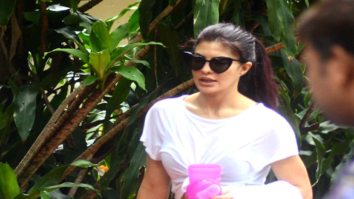 Jacqueline Fernandez snapped post rehearsals in Bandra