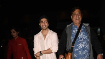 The cast of 'Judwaa 2' returning from their Mauritius' schedule
