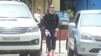 Kareena Kapoor Khan, Nidhhi Agerwal and Jhanvi Kapoor snapped at the gym