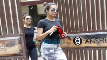 Malaika Arora Khan, Amrita Arora, Kiara Advani, Tusshar Kapoor & others snapped in Bandra