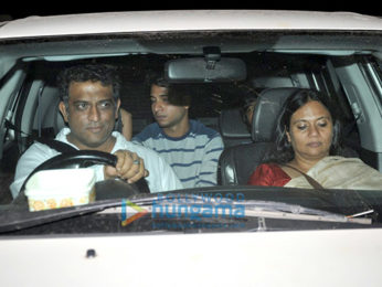 Ranbir Kapoor, Katrina Kaif, Anurag Basu and others grace the screening on Jagga Jasoos at Yashraj Studio