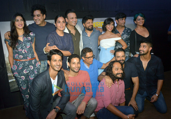 Richa Chadda, Vivek Oberoi and others grace the screening of the web series 'Inside Edge'