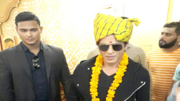 Shah Rukh Khan receives a royal welcome in Rajasthan