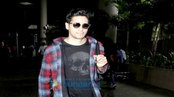 Sidharth Malhotra back from Aiyaary shoot