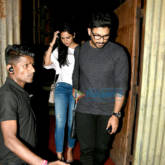 South Superstar Allu Arjun snapped with his wife post dinner at Social in Khar
