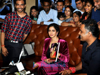 Sridevi snapped at 'Mom' Special screening for Fans