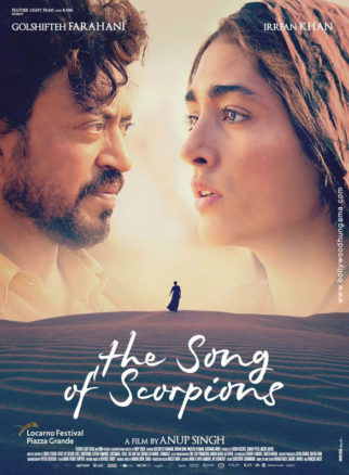 First Look From The Movie The Song of Scorpions