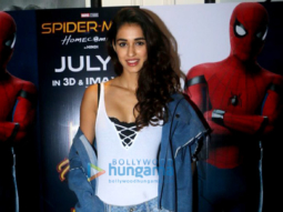 Tiger Shroff and Disha Patani snapped at 'Spider-Man Homecoming' screening
