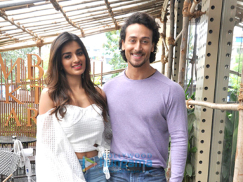 Tiger Shroff and Nidhhi Agerwal snapped promoting their film Munna Michael