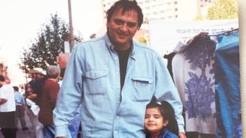 Trishala Dutt shares cute childhood picture with grandfather Sunil Dutt