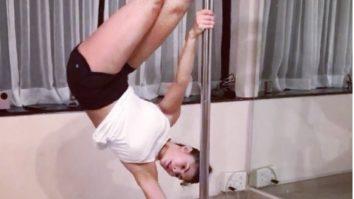 WATCH Jacqueline Fernandez' pole workout session is super hot
