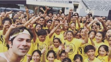 WATCH Varun Dhawan rehearses with kids for his IIFA 2017 performance and it's adorable