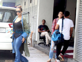 Malaika Arora snapped post a meeting in Bandra