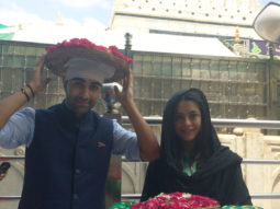 Aadar Jain and Anya Singh visit the Holy Ajmer Sharif Durgah-1