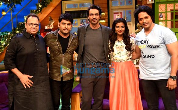 Arjun Rampal and Aishwarya Rajesh promote 'Daddy' on The Kapil Sharma
