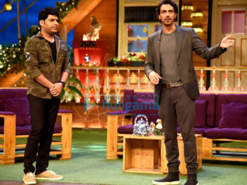 Arjun Rampal and Aishwarya Rajesh promote 'Daddy' on The Kapil Sharma