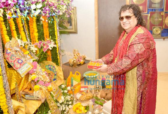 Bappi Lahiri celebrate Ganesh Chaturthi