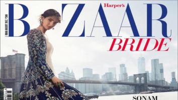 Sonam Kapoor On The Cover Of Bazaar Bride