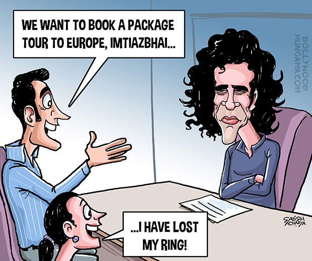 Bollywood Toons Imtiaz Ali tours & travels!