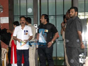 Bollywood stars at Salman Khan's Ganesh visarjan