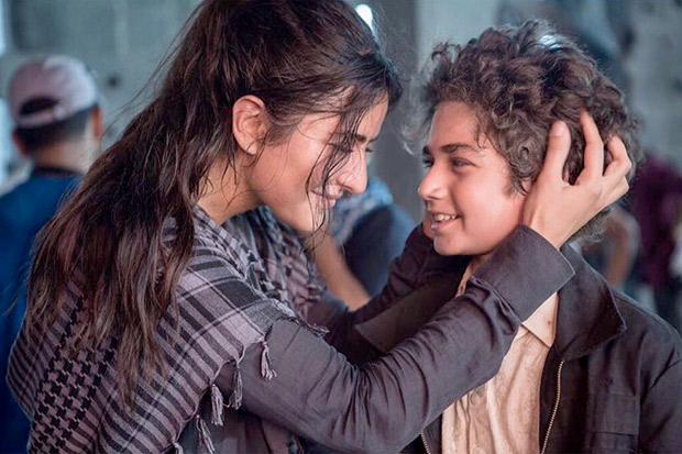 CUTE! Katrina Kaif introduces her kid co-star in Tiger Zinda Hai who talks more than her
