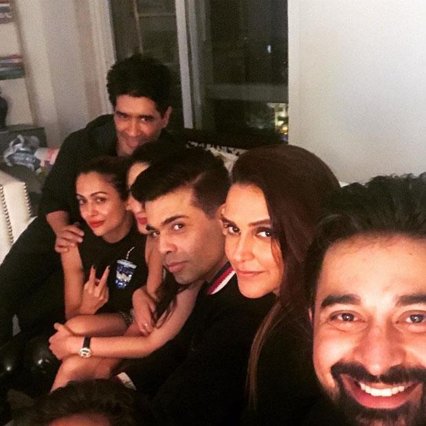 Check out Varun Dhawan, Aditi Rao Hydari, and Karan Johar at Neha Dhupia's birthday bash_01