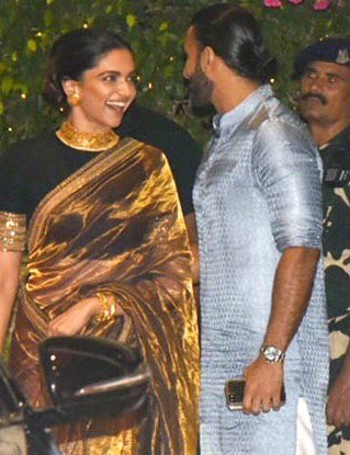 Deepika Padukone and Ranveer Singh look3