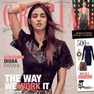 Disha Patani On The Cover Of Grazia