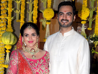 Esha Deol's family attends her baby shower