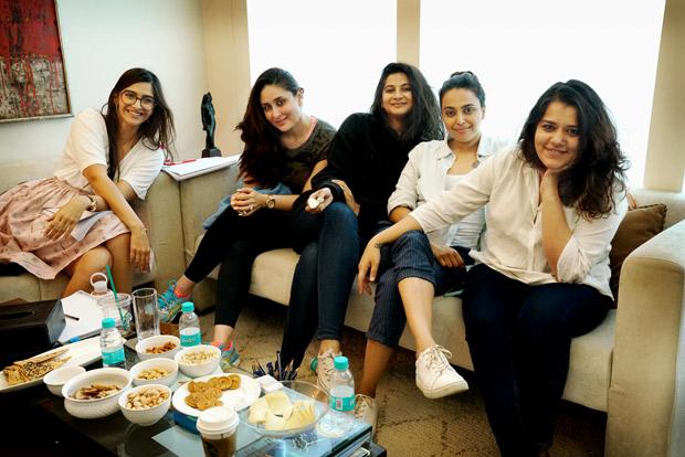 Girl gang Kareena Kapoor Khan, Sonam Kapoor, Swara Bhaskar and Shikha Talsania begin prep for Rhea Kapoor's Veere Di Wedding!