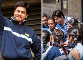Here are some BTS moments of Shah Rukh Khan and the hockey team that will make you re-watch the film