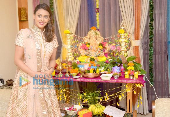 Hrishitaa Bhatt celebrate Ganesh Chaturthi