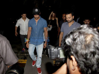 Hrithik Roshan, Sussanne Khan snapped with friends post dinner at Yauatcha, Bandra