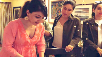 INSIDE VIDEO Soha Ali Khan cuts a cake and enjoys her baby shower with Kareena Kapoor Khan and Karisma Kapoor