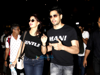Jacqueline Fernandez, Sidharth Malhotra and Sonam Kapoor snapped at the airport