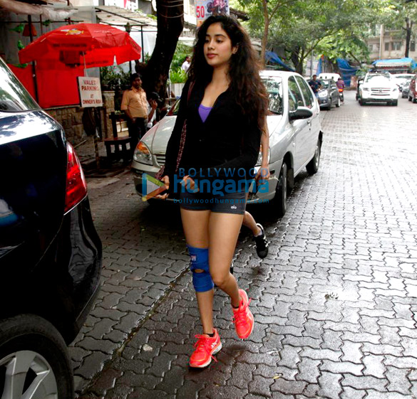 Jhanvi Kapoor and Fatima Sana Shaikh snapped at Kitchen Garden