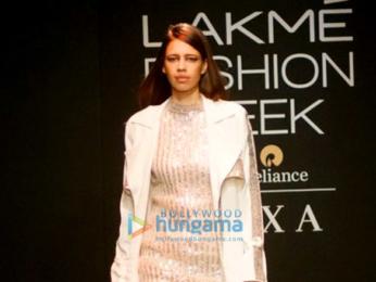 Kalki Koechlin walks for Nikita Mhaisaikar at Lakme Fashion Week 2017