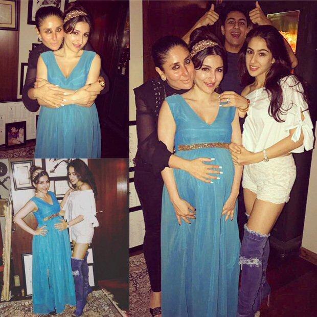 Kareena Kapoor Khan, Karisma Kapoor, Sara Ali Khan, Ibrahim and Soha Ali Khan celebrate Saif Ali Khan's birthday!3