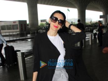 Karisma Kapoor snapped at the airport