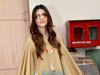 Kriti Sanon and Ayushmann Khurrana snapped promoting the film 'Bareilly Ki Barfi'