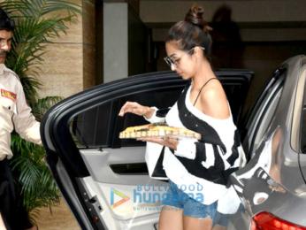 Malaika Arora snapped at her home in Bandra