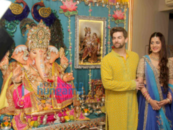 Neil Nitin Mukesh celebrate Ganesh Chaturthi