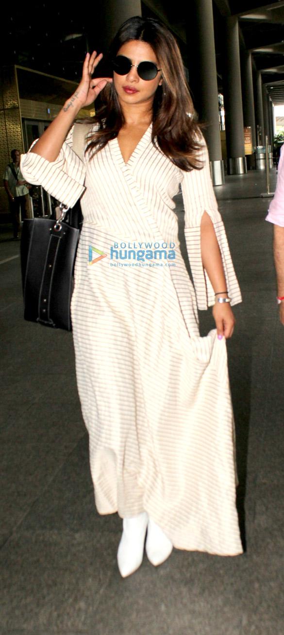 Priyanka Chopra snapped at the airport
