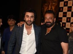 Ranbir Kapoor and Rajkumar Hirani join Sanjay Dutt at Bhoomi trailer launch