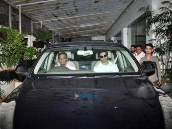 Ranveer Singh, Deepika Padukone and Varun Dhawan snapped post dubbing at Sunny Super Sound